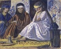 Arab Interior: a Harem, 1895 Fine-Art Print
