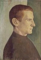 Portrait of the Dutch Painter Jan Verkade, 1893 Fine-Art Print