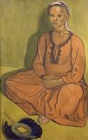 Study of Mulatto Woman, 1915 Fine-Art Print