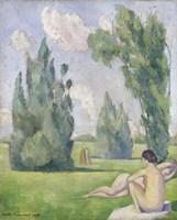 Nude in a Landscape, 1890 Fine-Art Print