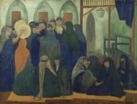 Arab celebration, 1894 Fine-Art Print