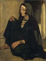 Woman Fellah: Shadows and Light, 1901 Fine-Art Print