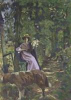 The Alley, 1908-1908 Fine-Art Print