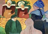 Women in Brittany Fine-Art Print