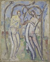 Adam and Eve, 1888 Fine-Art Print