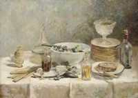 Still Life with Salad, c. 1890 Fine-Art Print