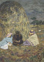 The Haystack, 1907-1908 Fine-Art Print