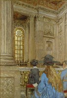Chapel at the Chateau of Versailles 1917-1919 Fine-Art Print