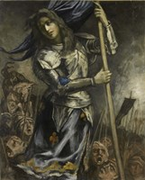 Joan of Arc, 1930 Fine-Art Print