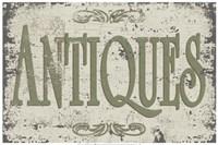 Vintage Signs - Antiques Fine-Art Print