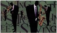 Swing Street Horns Fine-Art Print
