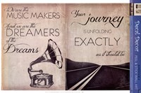 Dreams & Journey Wall Decal