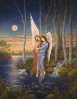 Moon Light Angel Fine-Art Print