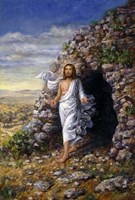 Jesus Rises Fine-Art Print