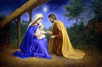 Baby Jesus Fine-Art Print