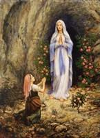 Our Lady Of Lourdes Fine-Art Print