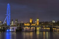 Thames at Night Fine-Art Print