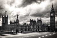 Houses of Parliament B/W Fine-Art Print