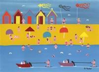 Jet Skis and Kites Fine-Art Print