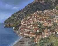Positano E Torre Clavel Fine-Art Print