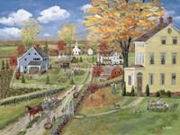 Autumn Chores Fine-Art Print