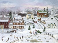 Country Christmas Fine-Art Print