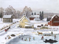 Ice In The Country Fine-Art Print