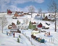 Winter Hamlet Fine-Art Print
