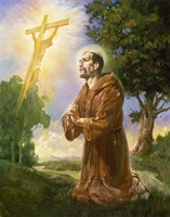 Saint Francis Of Assisi Fine-Art Print