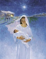 Mary With Jesus Fine-Art Print