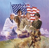 The Armed Forces Fine-Art Print