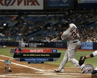 David Ortiz hits his 500th career MLB home run on September 12, 2015 at Tropicana Field Fine-Art Print