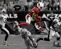 Larry Fitzgerald 2015 Spotlight Action Fine-Art Print