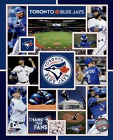 Toronto Blue Jays 2015 Team Composite Fine-Art Print