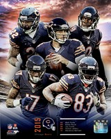 Chicago Bears 2015 Team Composite Fine-Art Print