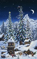 Christmas With The Elves Fine-Art Print