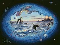 Whales 2 Fine-Art Print