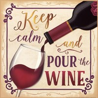 Pour the Wine Fine-Art Print