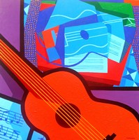 Homage To Juan Gris Fine-Art Print