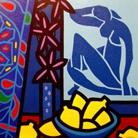 Homage To Matisse 1 Fine-Art Print