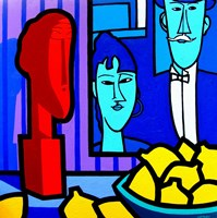 Homage To Modigliani 2 Fine-Art Print