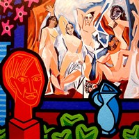 Homage To Picasso 1 Fine-Art Print