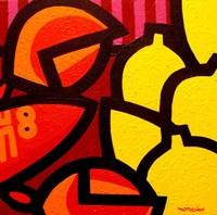 Lobster And 5 Lemons Fine-Art Print