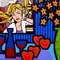 Still Life With Lichtenstein 2 Fine-Art Print