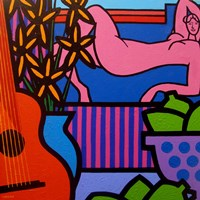 Still Life With Matisse 1 Fine-Art Print