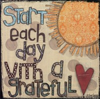 Start Each Day Fine-Art Print
