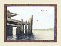 Dock On The Bay Fine-Art Print