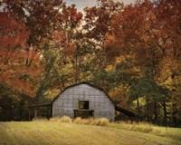 Autumn Barn Fine-Art Print