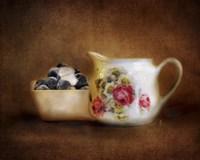 Blueberries And Cream Fine-Art Print