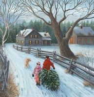 Christmas on the Farm Fine-Art Print